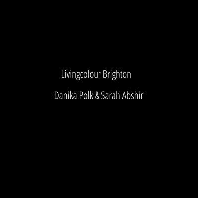 Editorial Photoshoot for LivingColour in Brighton