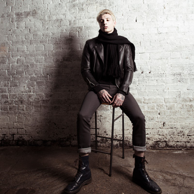 Fashion photography - with the luxury clothing brand Leather Monkeys
