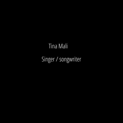 Creative photoshoot for Tina Mali - singer/songwriter